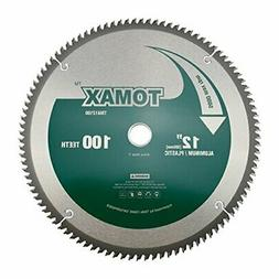 TOMAX 12-Inch 100 Tooth TCG Aluminum and Non-Ferrous Metal S
