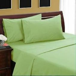1000 TC Egyptian Cotton 8,10,12,15 Inch Deep Pocket Sage Sol