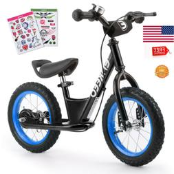 12''/14'' Kid Sport Balance Bike No Pedal Control Walking Bi