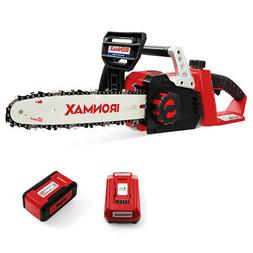 12-Inch 40V Cordless Chainsaw with 4.0Ah Lithium-Ion Battery