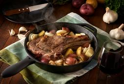 12 inch Cast Iron SkilletVersatile and Durable Cast Iron F