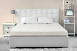 IRVINE HOME COLLECTION 12 Inch Gel Memory Foam Mattress, Que
