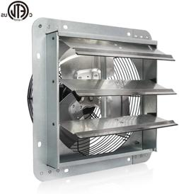 12 Inch High Speed Automatic Aluminum Shutter Exhaust Fan Wa