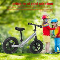 12 Inch Kids Balance Bike Children No Pedal Bicycle Sports W