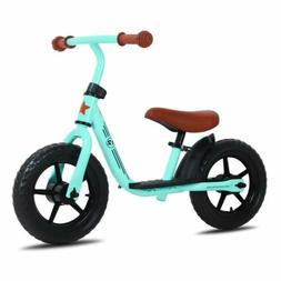 12 Inch Kids Balance Bike with Footrest for 1-5 Years Girls