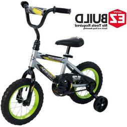 12 Inch Kids Bike Sports Outdoors Durable Steel Frame Quick