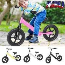 12 inch Kids Puzzle Training Balance Bicycle Children No-Ped