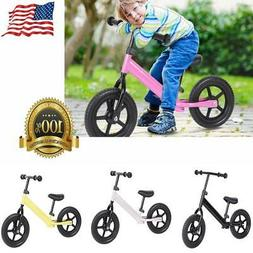 12 inch Kids Sports Wheel Training Balance Bicycle Children