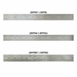 12-Inch Precision 4R Rigid Stainless-Steel Ruler -