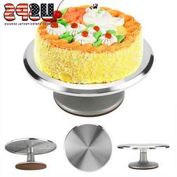 12 Inch Rotating Cake Decorating Turntable-Aluminum-Revolvin
