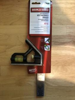 Craftsman 12 Inch Stainless Steel Combination Square