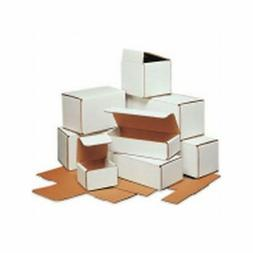 Box Packaging 12 Inch White Corrugated Mailer, 50/bundle