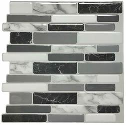 "Art3d 12""x12"" Peel and Stick Backsplash Tile for Kitchen, Ma"