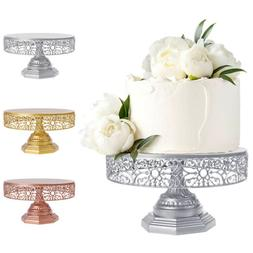 12inch Cake Stand Round Metal Wedding Event Party Display Cu