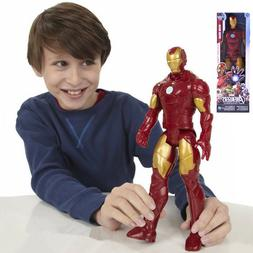 12inch The Avengers Superhero Iron Man PVC Action Figure wit