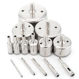 14Pcs Diamond Coated Hole Saw Cutter <font><b>Marble</b></fo