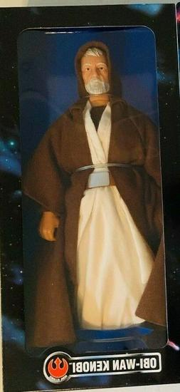 1996 STAR WARS COLLECTOR SERIES 12 INCH FIGURE Obi Wan Kenob