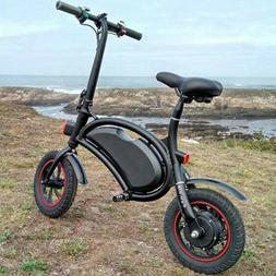20'' Folding Electric Bike Mountain City Cycling Bicycle eBi