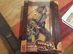 2008 INDIANA JONES 12 INCH ACTION FIGURE W/SOUND & WHIP CRAC