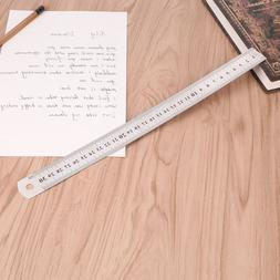 30cm 12 inch Stainless Steel Metal Straight Ruler Precision