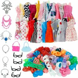 32pcs Doll Clothes Set Fashion Accessories for 11-12 Inch Gi