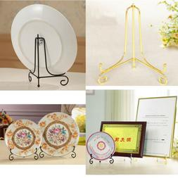4-12inch Art Stand Display Easel Holder Dish Plate Photo Pic