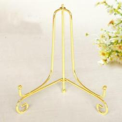 4-12inch Wire Iron China Plate Stand Easel Art Display Stand