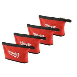 4 Pack Milwaukee Tools Small Tool Bag Heavy Duty Water Resis