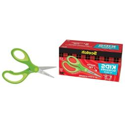Scotch 5-Inch Soft Touch Pointed Kid Scissors, 12 Count Teac