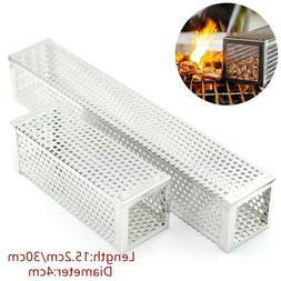 6/12inch Square BBQ Pellet Smoker Tube Stainless Steel Cold