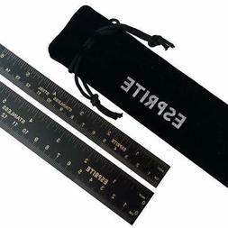 6 inch Ruler and 12 inch Scale Set Machinist Ruler High Grad