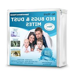 Mibio Mattress Protector Queen & Allergen Mattress Cover All