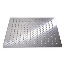 Yodel 12 Inch Solid Ultra Thin Stainless Steel Rain Shower H