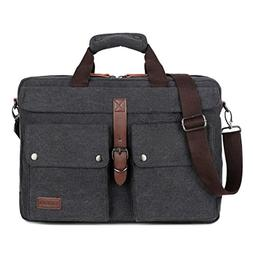 BAOSHA BC-07 17inch Canvas Laptop Computer Bag Messenger Bag