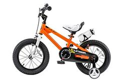 Royalbaby BMX Freestyle Kid's Bike, 12 inch wheels, Orange