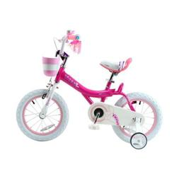 Royalbaby Bunny Girls Bike 12 Inch Wheels Basket Training Gi