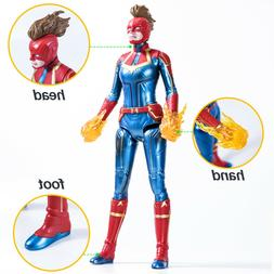 Captain Marvel Movie Cosmic Captain Marvel Super Hero Doll A