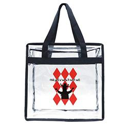 clear bag stadium approved 12 x 6