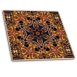 3dRose ct_42362_4 Turkish Decorative Flower Mandala-Ceramic