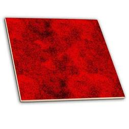 3dRose ct_66006_4 Red and Black Digital Squares-Ceramic Tile