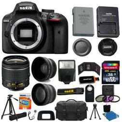 Nikon D3400 24.2 Megapixel Digital SLR Camera with Lens - 18