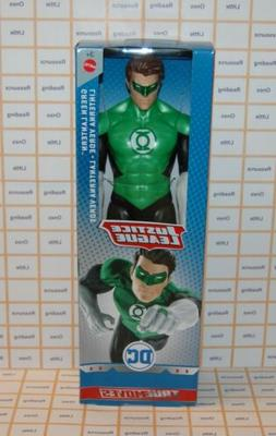 "DC Justice League True Moves GREEN LANTERN 12"" Inch Scale Fi"