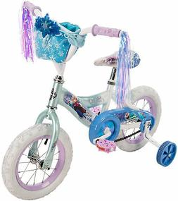 Huffy Disney 'Frozen' 12-Inch Bicycle with Handlebar Bag