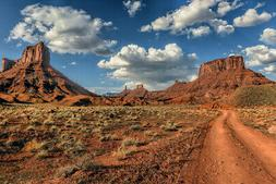 Epic Landscape Near Moab Photo Art Print Poster 18x12 inch