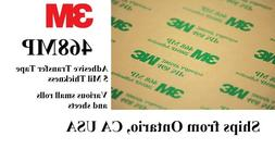 Free Ship 3M 468MP Mini Rolls/Sheets Adhesive Transfer Tapes