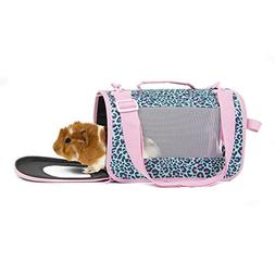 Life's Furtastic Animal Print for Small Animal Carrier, 12""