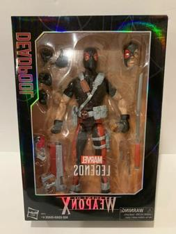 Hasbro Marvel Legends 12 Inch Deadpool Agent of Weapon X Act