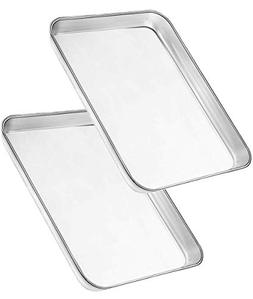 Bangder Heavy Duty Stainless Steel Sheet Pan Easily Wipes Cl