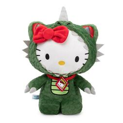 Kidrobot Hello Kitty Kaiju Cosplay Plush 12 Inch Figure NEW