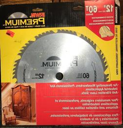 Irwin Premium - Wood / Combination 12 inch 60 Tooth Saw Blad